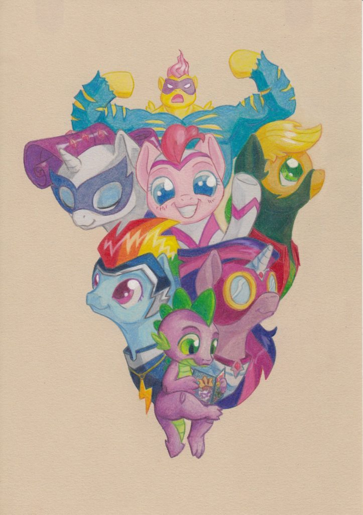 Illustration: Power Ponies