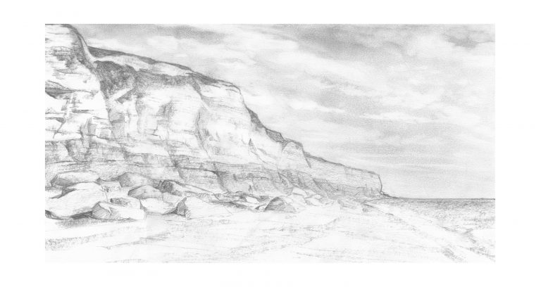 Value study for View Along Hunstanton Beach