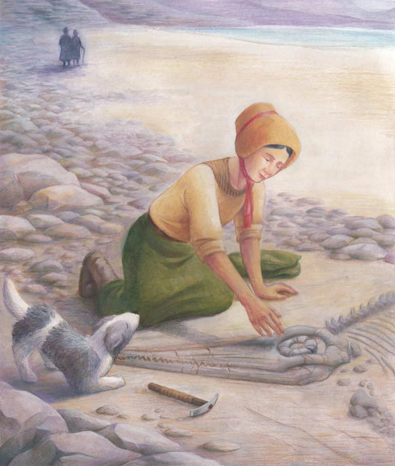Illustration: Mary Anning