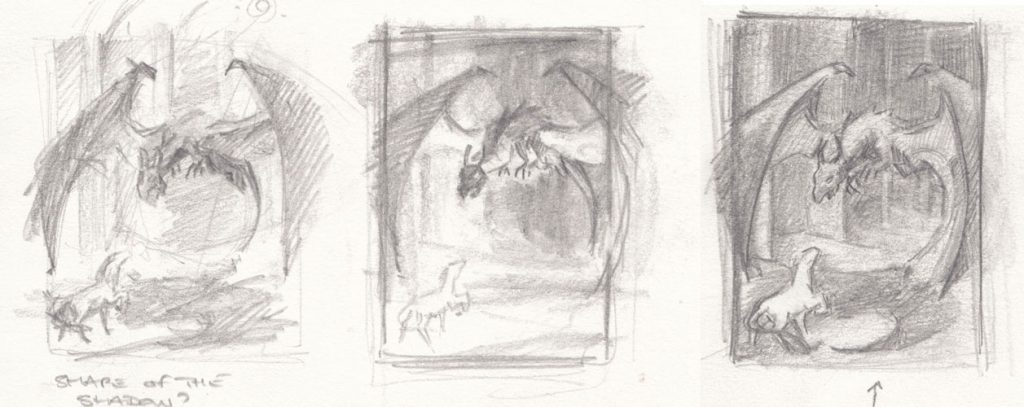 Value thumbnails for the second version