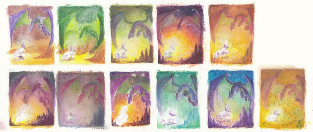 Colour thumbnails for second version